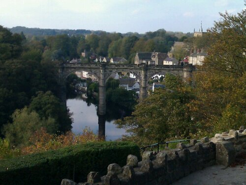 View from Knaresborough Castle
